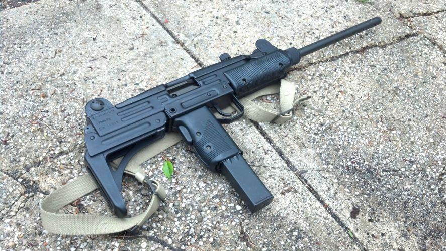 UZI machine gun weapon military police assault pistol (7) wallpaper