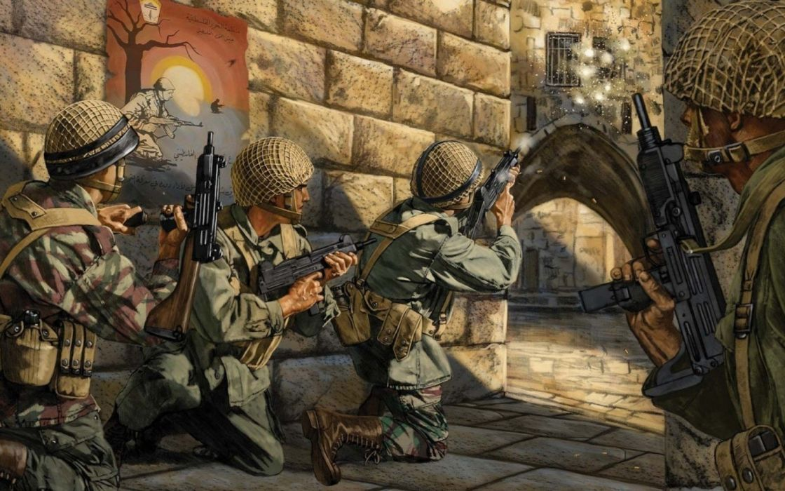 UZI machine gun weapon military police assault pistol (23) wallpaper
