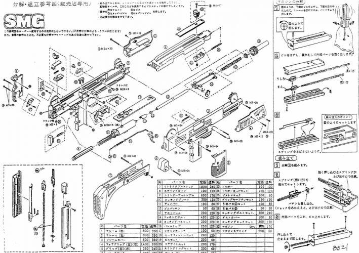 UZI machine gun weapon military police assault pistol (27) wallpaper