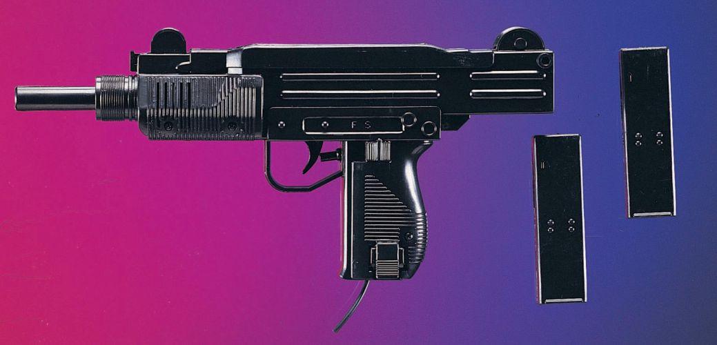 UZI machine gun weapon military police assault pistol (28) wallpaper