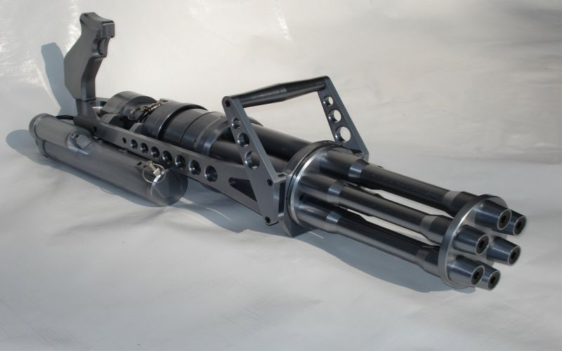 MINIGUN machine gun weapon military (1) wallpaper