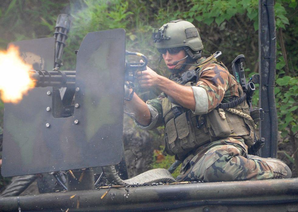 MINIGUN machine gun weapon military (10) wallpaper