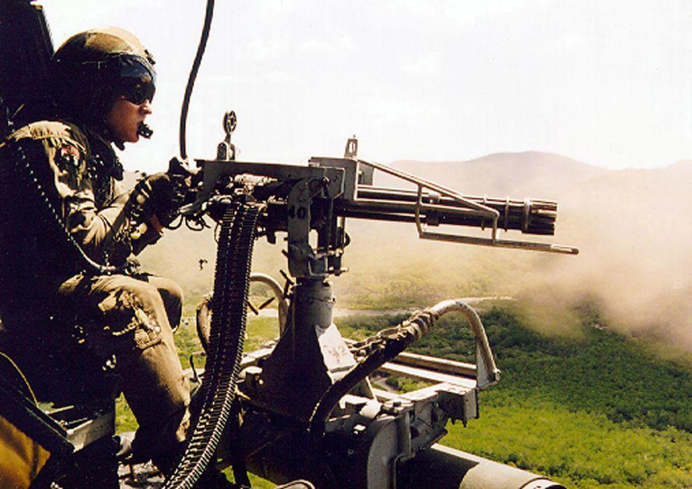 MINIGUN machine gun weapon military (20) wallpaper