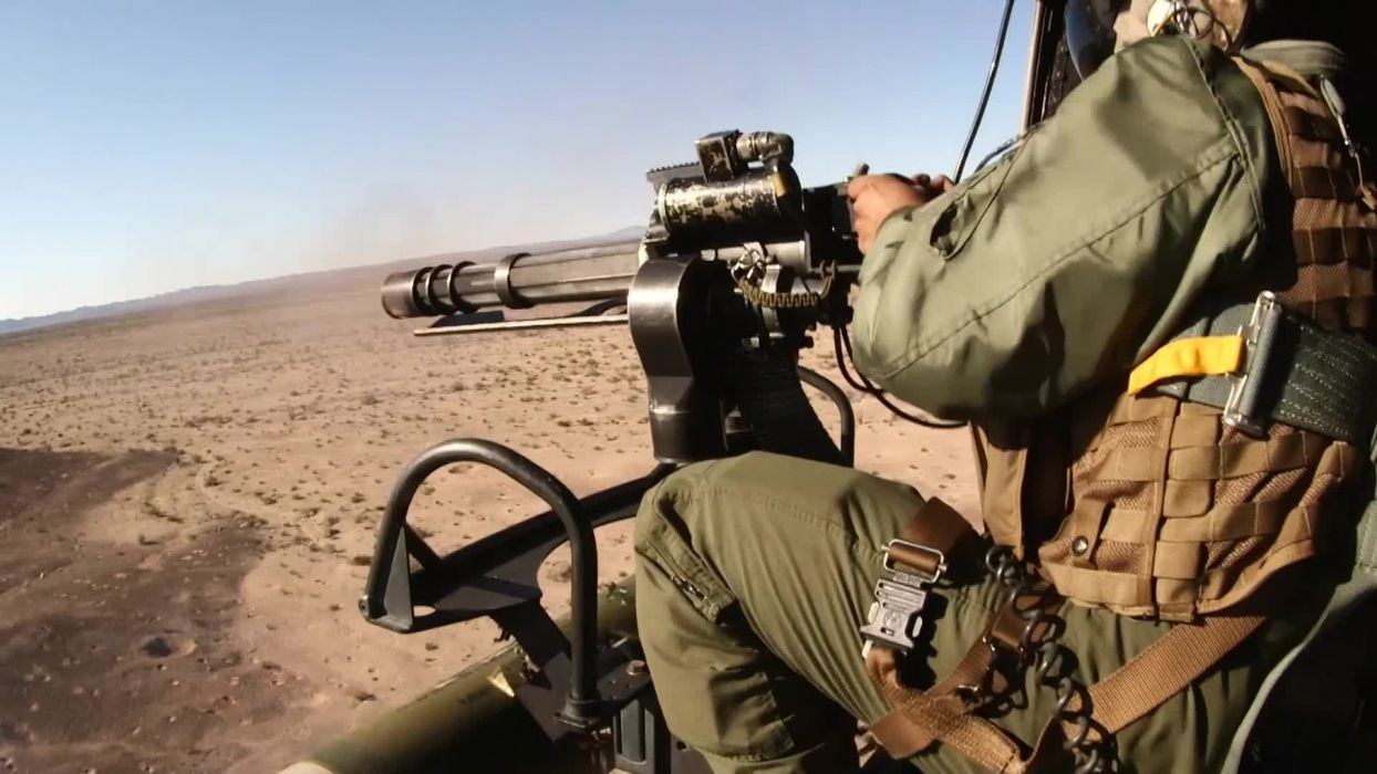 MINIGUN machine gun weapon military (33) wallpaper