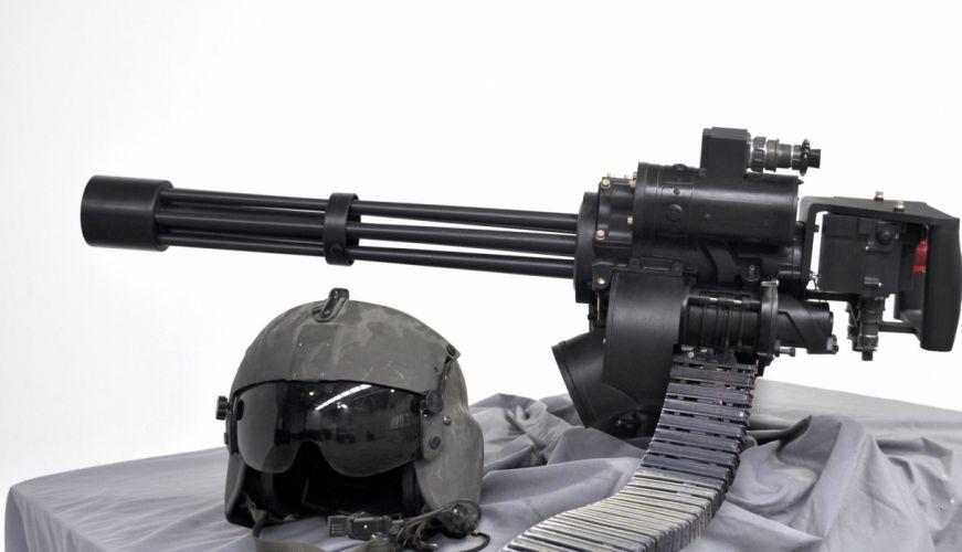 MINIGUN machine gun weapon military (34) wallpaper