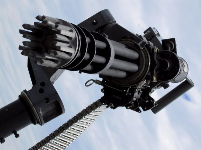 MINIGUN machine gun weapon military (35) wallpaper