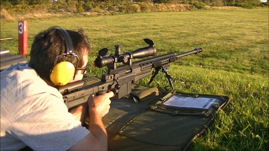 ACCURACY INTERNATIONAL sniper rifle weapon gun police military (3) wallpaper