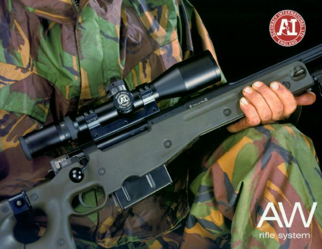 ACCURACY INTERNATIONAL sniper rifle weapon gun police military (1) wallpaper