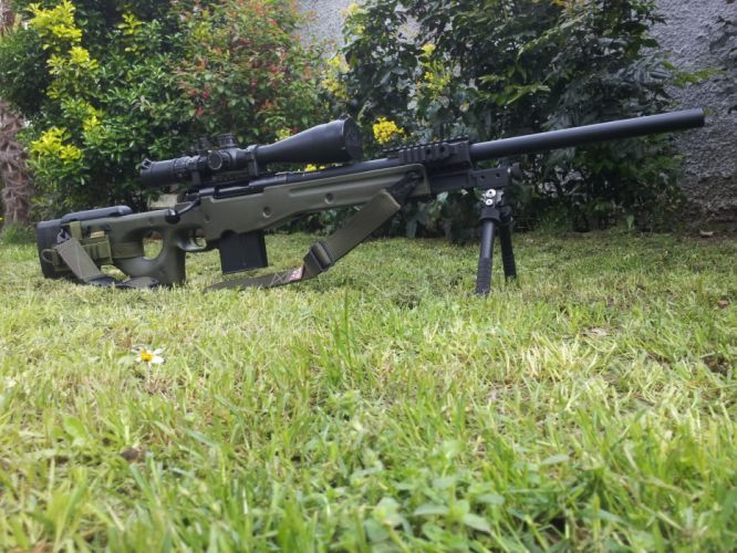 ACCURACY INTERNATIONAL sniper rifle weapon gun police military (15) wallpaper