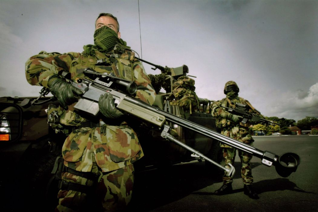 ACCURACY INTERNATIONAL sniper rifle weapon gun police military (18) wallpaper