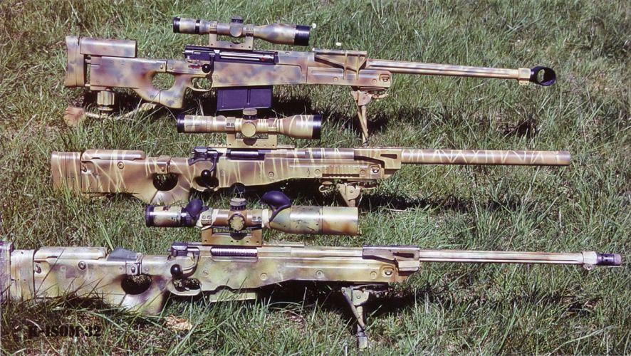 ACCURACY INTERNATIONAL sniper rifle weapon gun police military (28) wallpaper