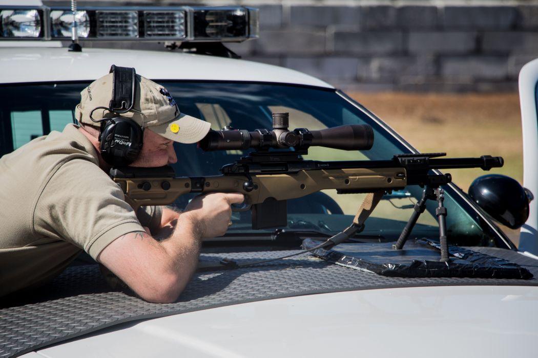 ACCURACY INTERNATIONAL sniper rifle weapon gun police military (30) wallpaper