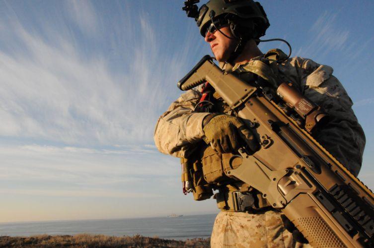 assault rifle weapon gun military (5)_JPG wallpaper