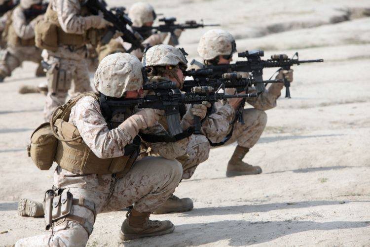 assault rifle weapon gun military (7) wallpaper