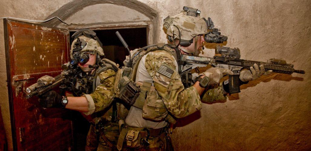 assault rifle weapon gun military (1) wallpaper