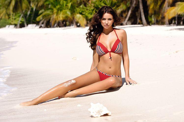 Monika pietrasinska girl sexy babe bikini wallpaper