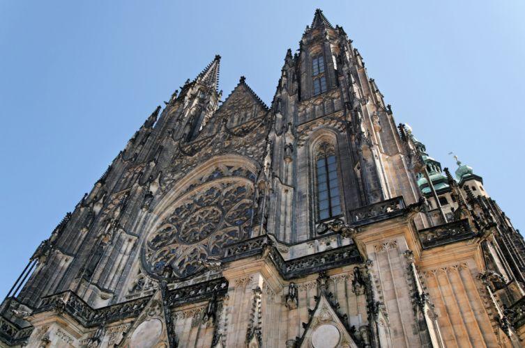 Prague_old_town_Saint_Vitus_cathedral wallpaper