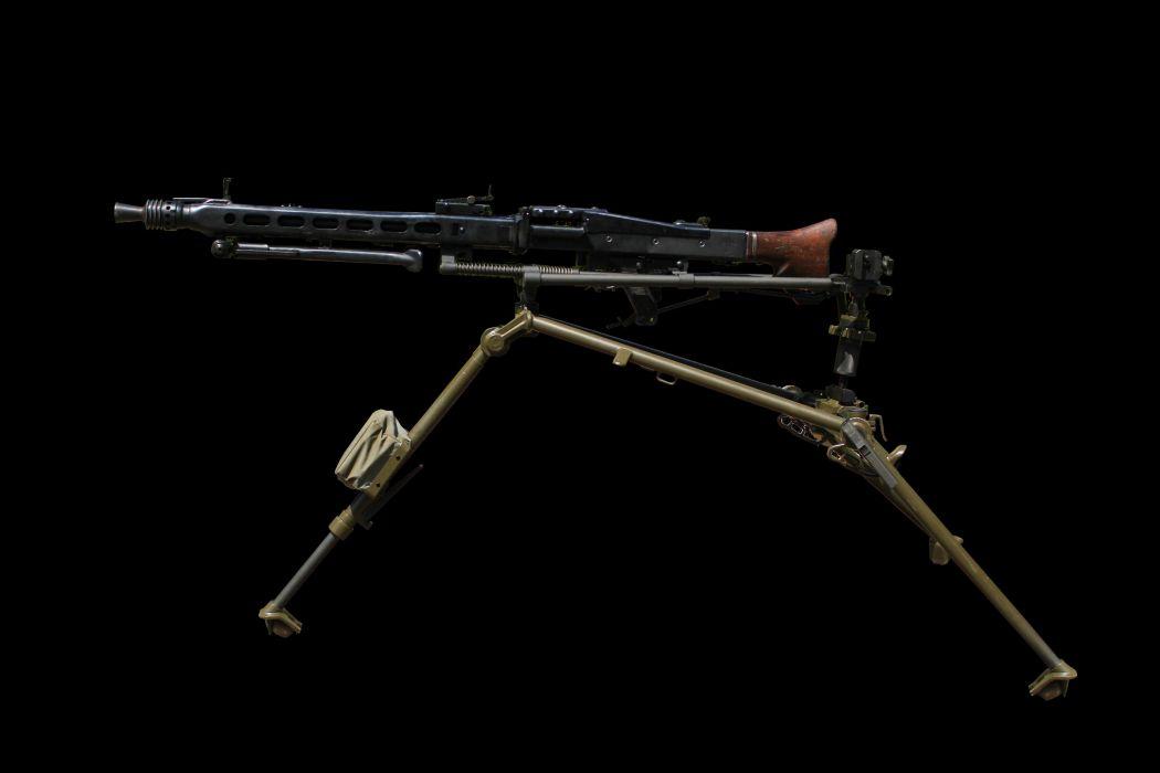 MG42 machine gun weapon military germany ww2 wwll (1) wallpaper