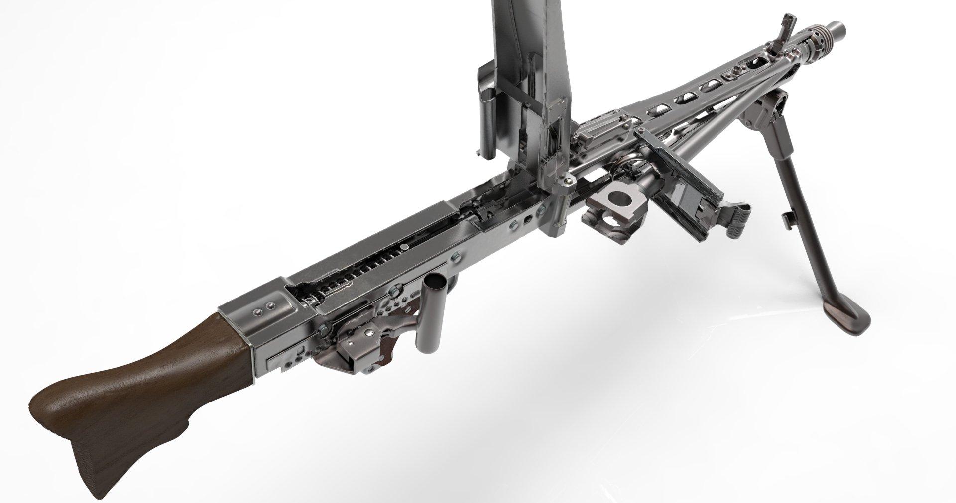 MG42 Machine Gun Weapon Military Germany Ww2 Wwll 26 Wallpaper