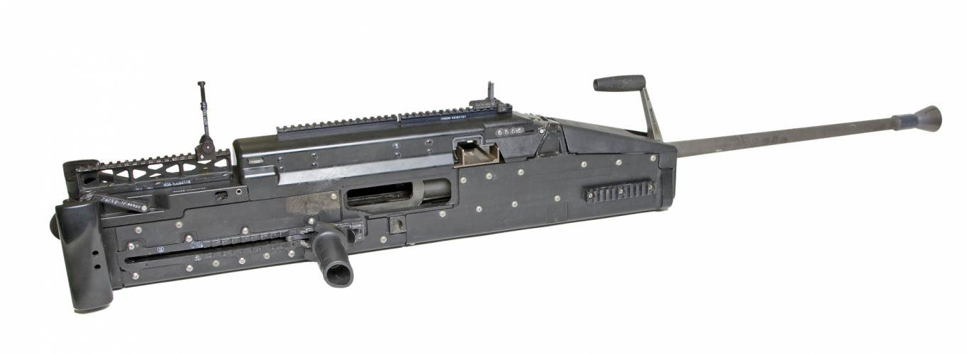 XM806 LIGHTWEIGHT 50cal machine gun weapon military (3) wallpaper