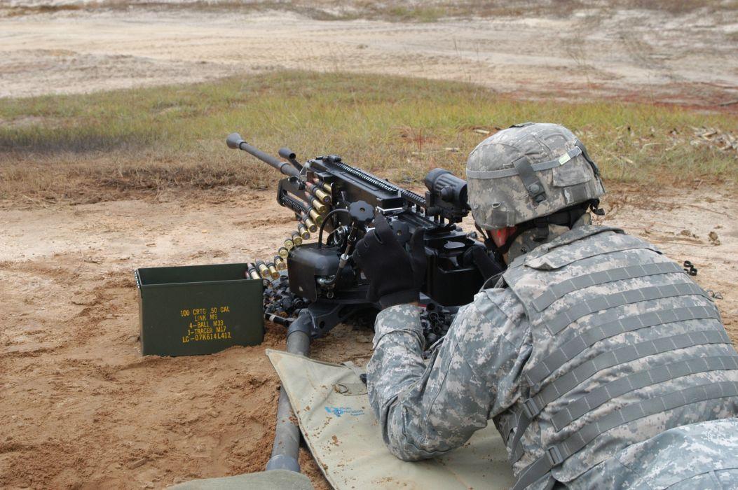 XM806 LIGHTWEIGHT 50cal machine gun weapon military (4) wallpaper