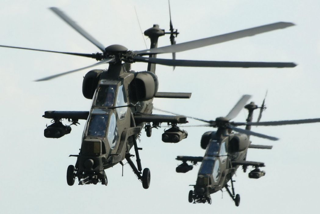 T129 ATTACK HELICOPTER raid atak weapon aircraft military (3) wallpaper