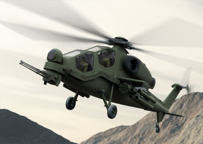 T129 ATTACK HELICOPTER raid atak weapon aircraft military (6) wallpaper