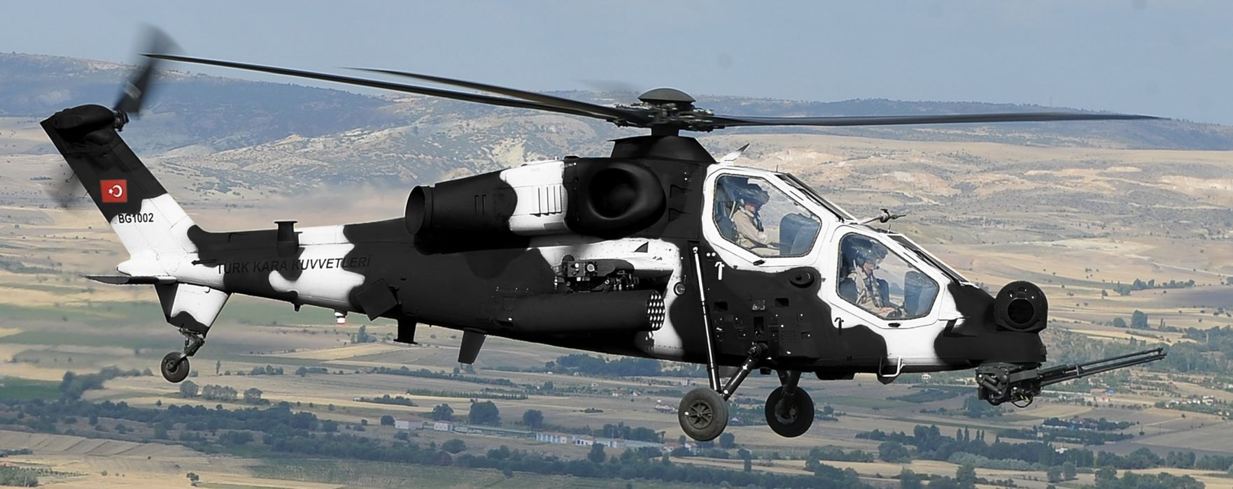 T129 ATTACK HELICOPTER raid atak weapon aircraft military (4) wallpaper