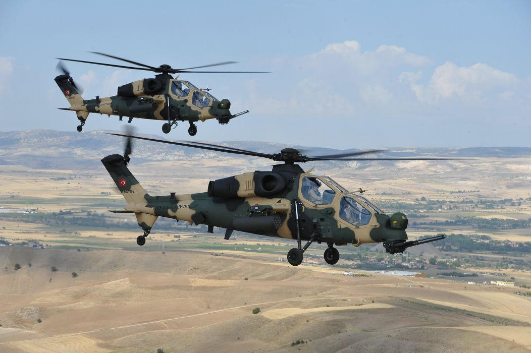 T129 ATTACK HELICOPTER raid atak weapon aircraft military (7) wallpaper