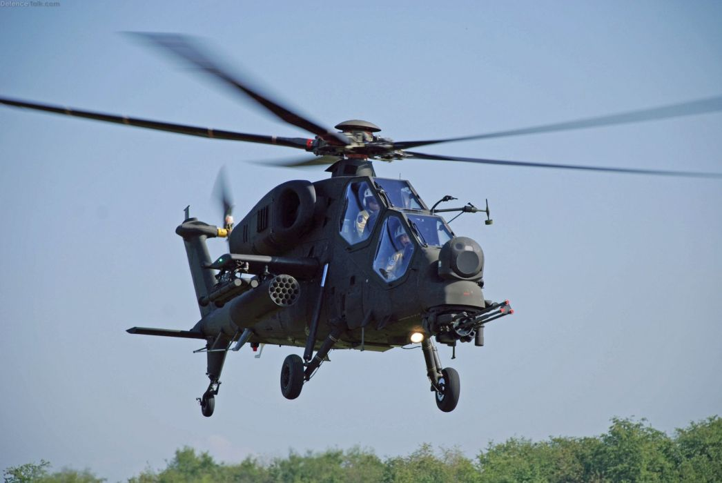 T129 ATTACK HELICOPTER raid atak weapon aircraft military (11) wallpaper