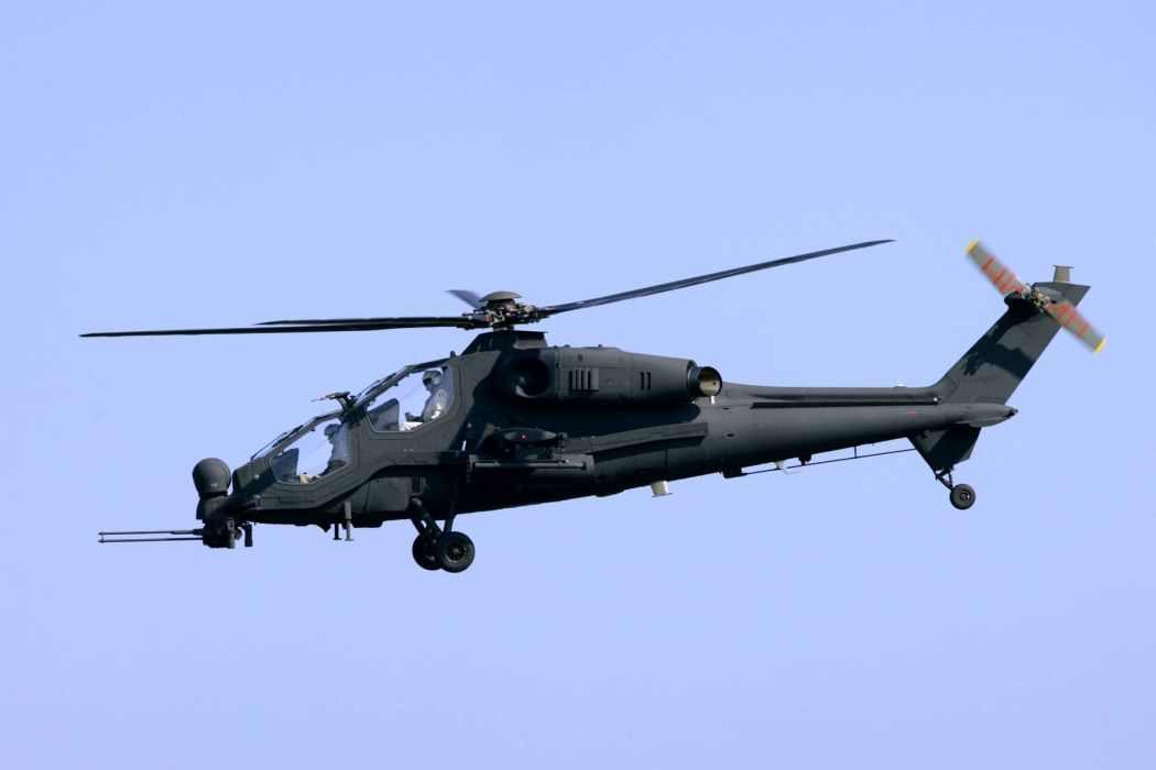T129 ATTACK HELICOPTER raid atak weapon aircraft military (13) wallpaper