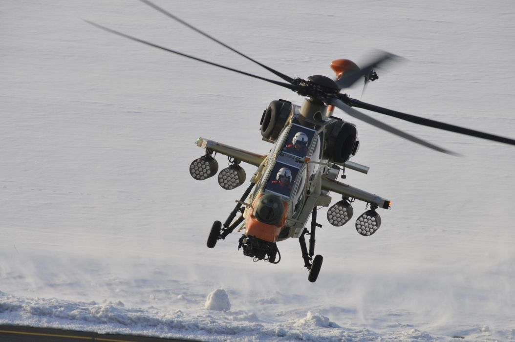 T129 ATTACK HELICOPTER raid atak weapon aircraft military (12) wallpaper