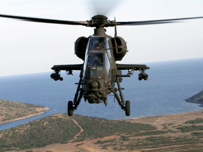 T129 ATTACK HELICOPTER raid atak weapon aircraft military (18) wallpaper