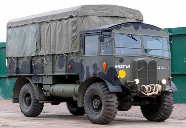 AEC truck vehicle transport militery army 4000x2759 wallpaper