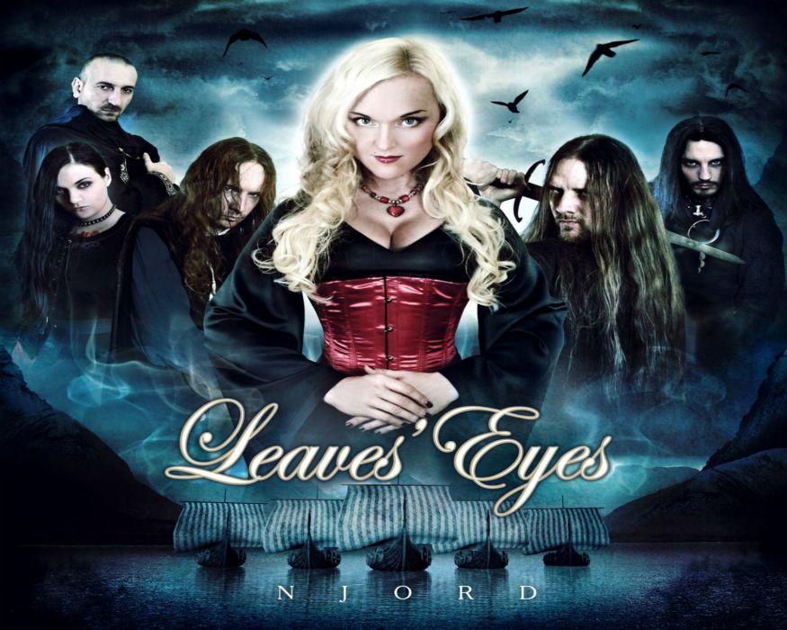LEAVES EYES symphonic metal Gothic folk hard rock (17) wallpaper