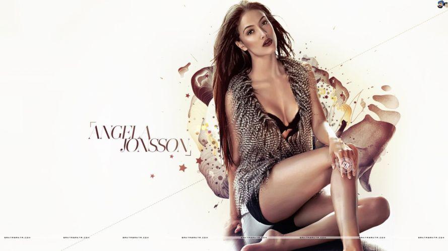 ANGELA JONSSON bollywood actress model babe (2) wallpaper