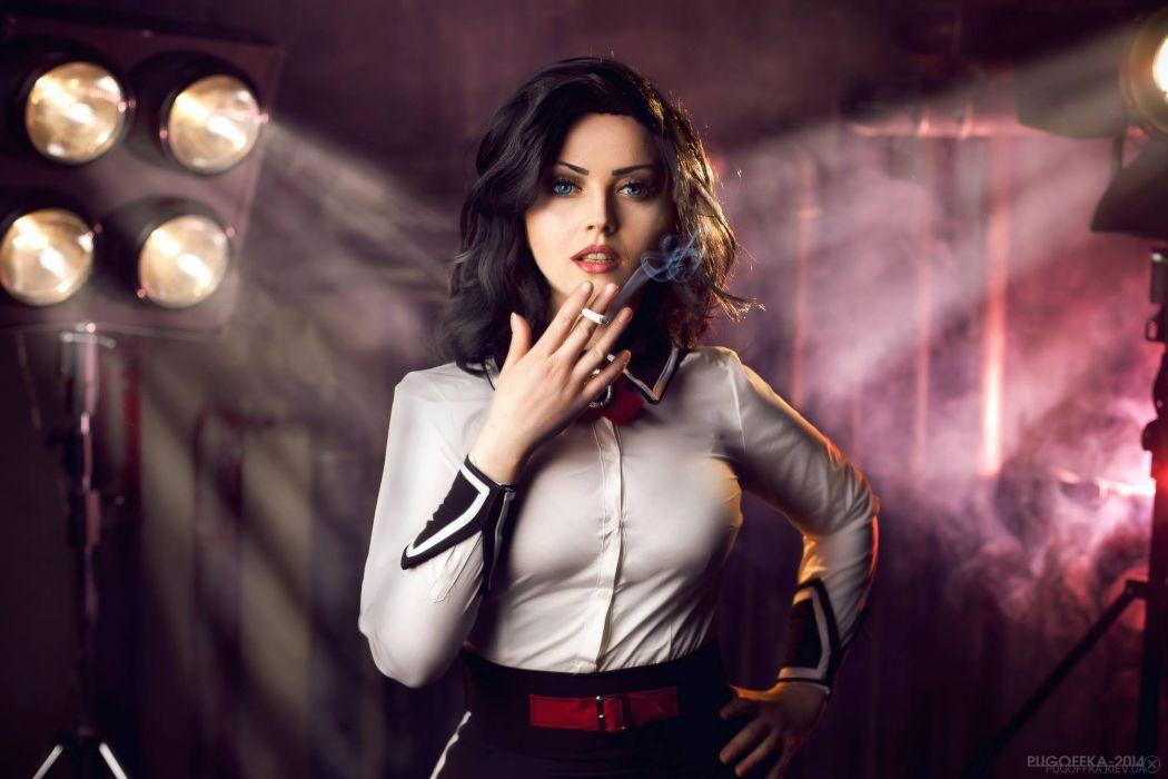 Elizabeth Cosplay Bioshock-Infinite: Burial-at-Sea wallpaper