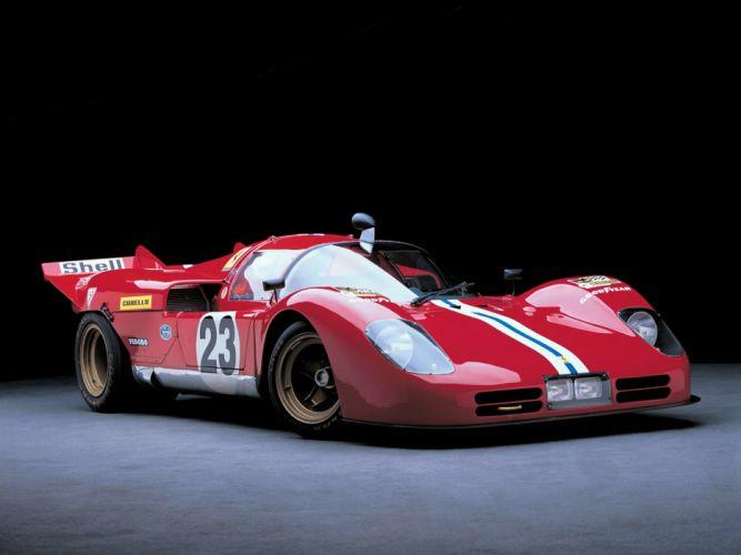 1971 Ferrari 512-S Race Car Racing Italy Supercar 4000x3000 wallpaper