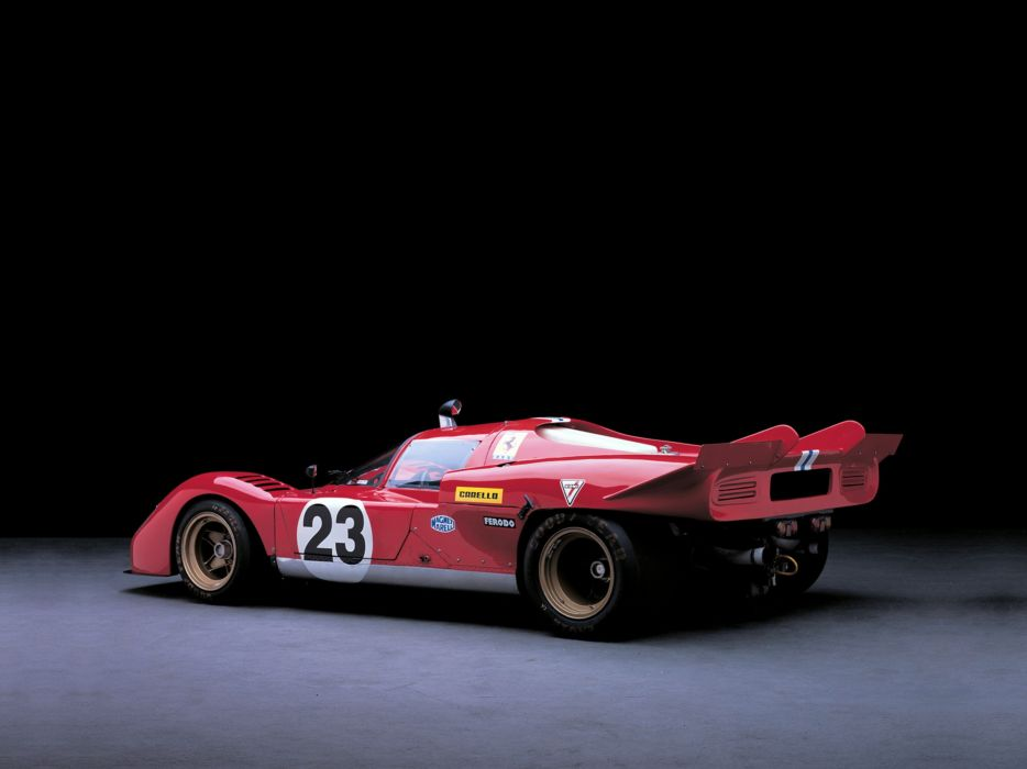 1971 Ferrari 512-S Race Car Racing Italy Supercar 4000x3000 wallpaper