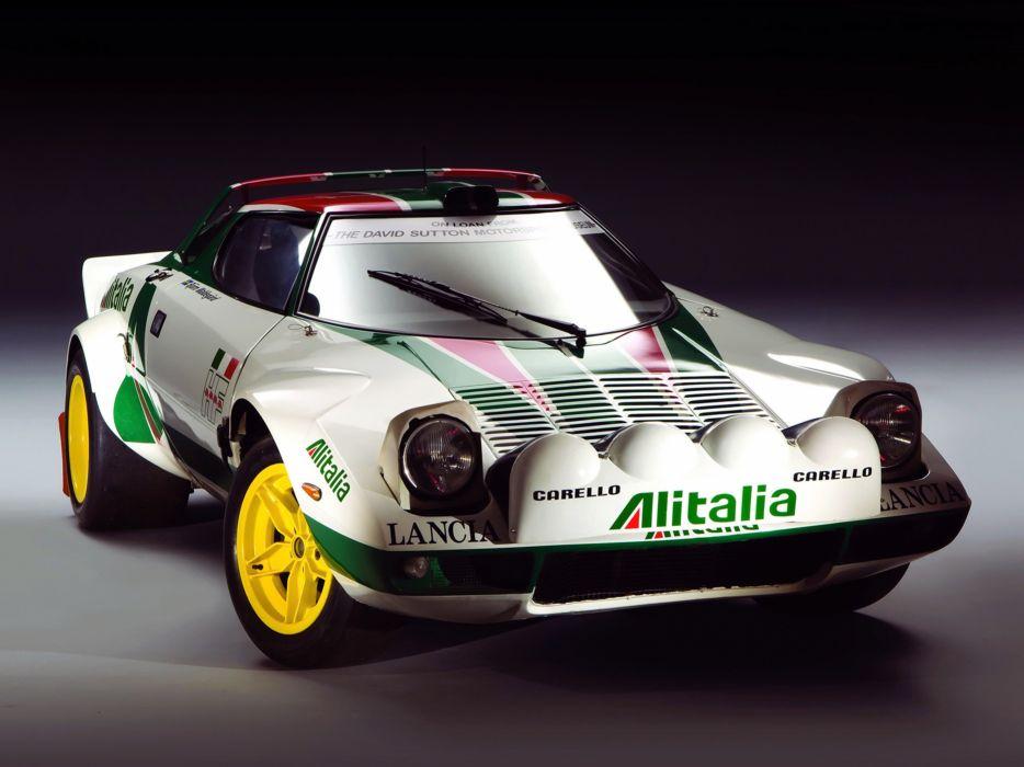 1972 Lancia Stratos Group-4 Race Car Racing Italy Supercar Rally 4000x3000 wallpaper