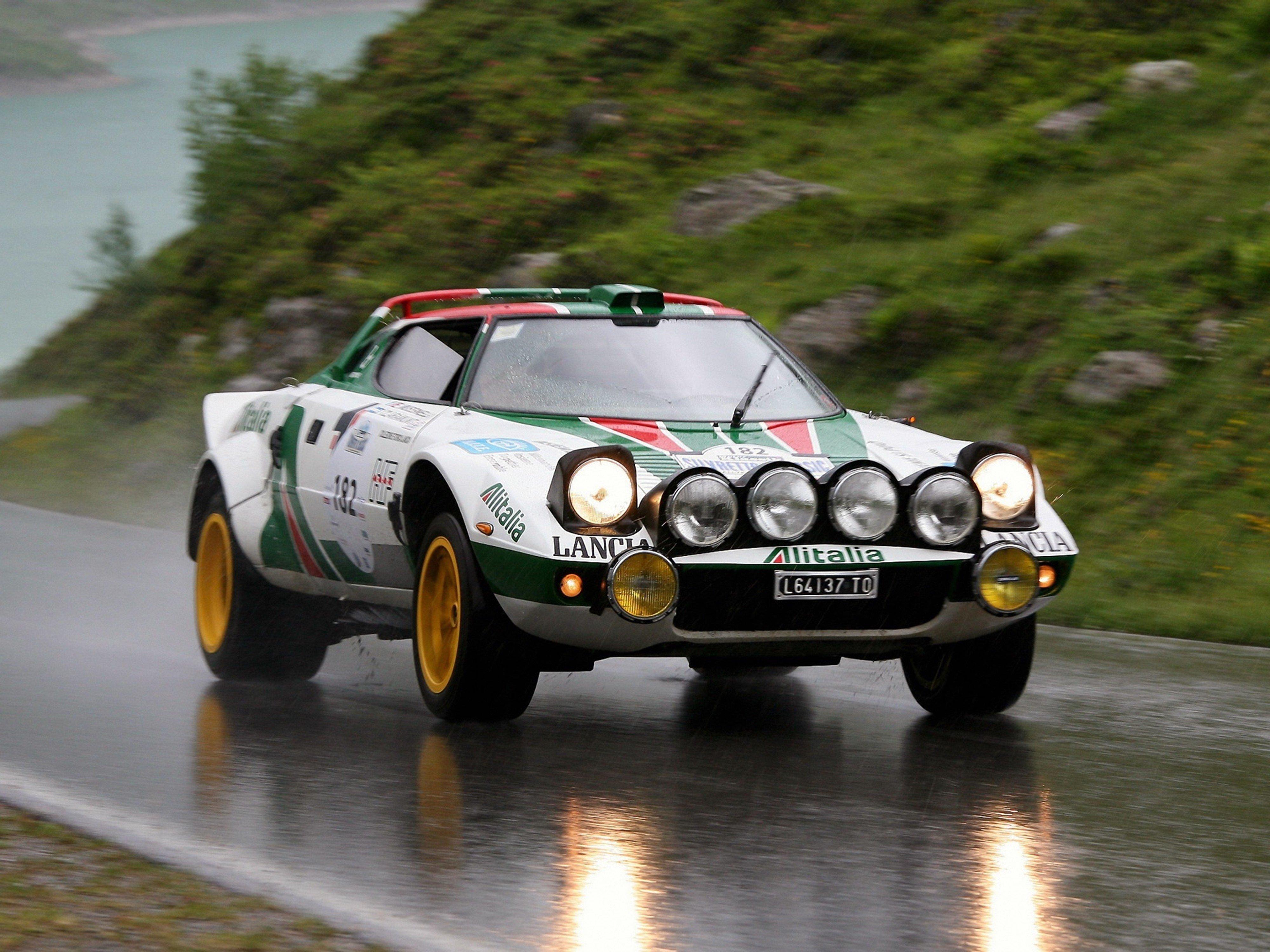 Lancia Stratos Group Race Car Racing Italy Supercar Rally