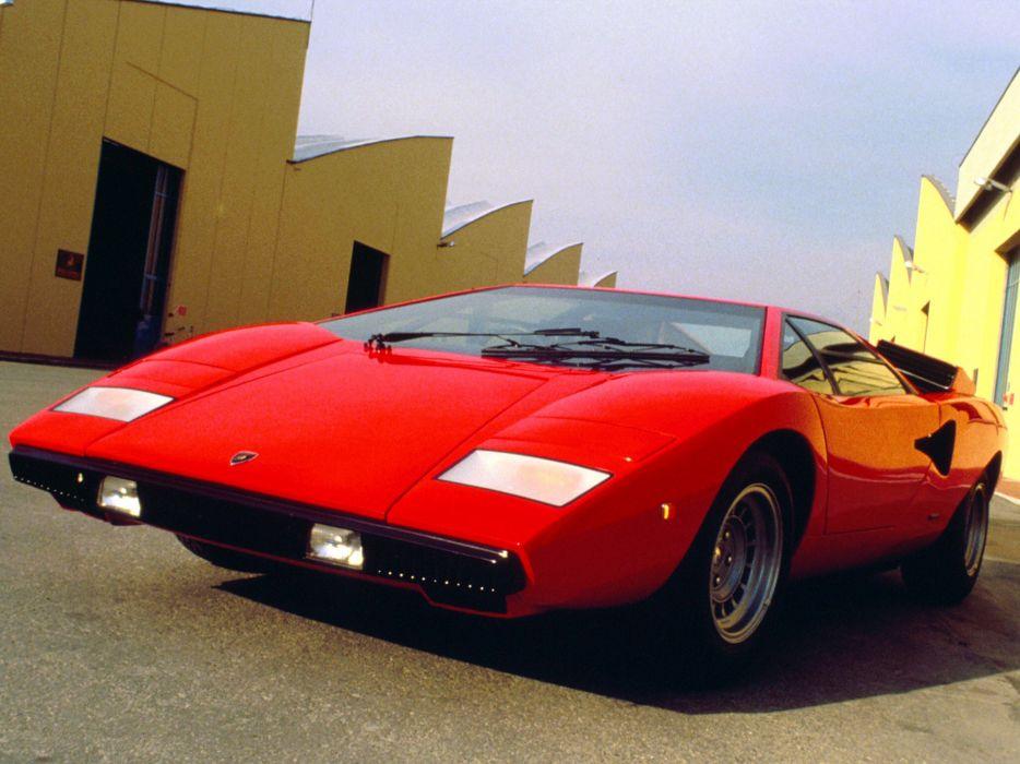 1973 Lamborghini Countach Car Italy Supercar 4000x3000 wallpaper