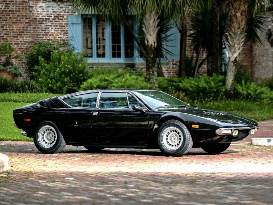 1974 Lamborghini Urraco P300 Car Italy Supercar 4000x3000 wallpaper