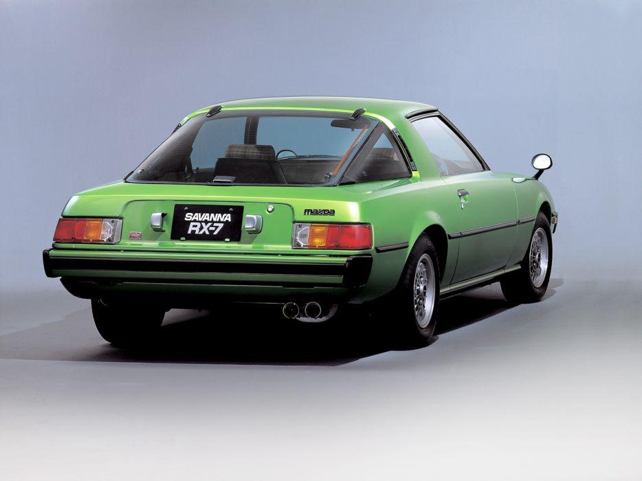 1978 Mazda RX-7 Car Japan 4000x3000 wallpaper