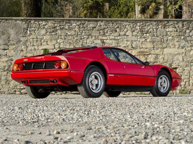 1976 Ferrari 512-BB Supercar Italy Car Red 4000x3000 wallpaper