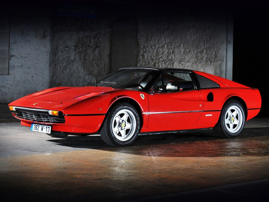 1982 Ferrari 308 GTS Car Italy Supercar Sport Red 4000x3000 wallpaper