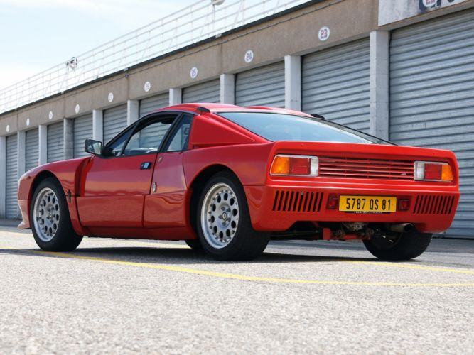 1982 Lancia Rally 037 Stradale Car Italy Supercar Sport Red 4000x3000 wallpaper