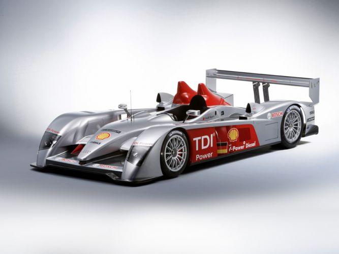 2008 Audi R10 TDI Race Car Racing LMP1 Germany Le-Mans Supercar 4000x3000 wallpaper