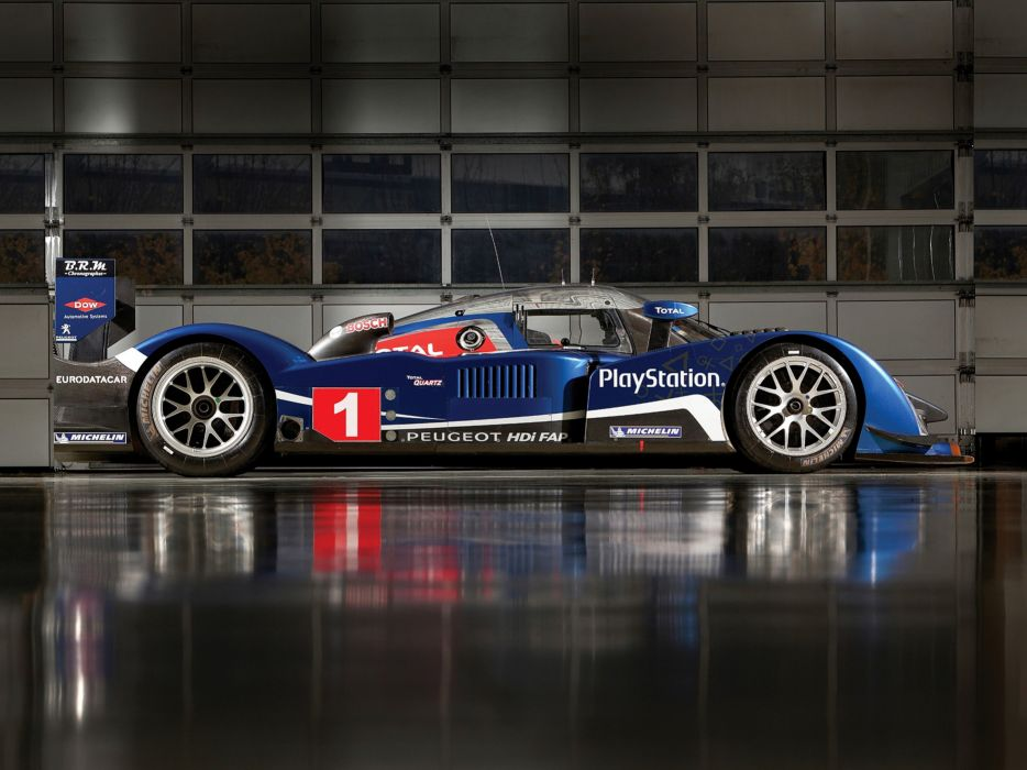 2008 Peugeot 908 HDi FAP Race Car Racing Le-Mans LMP1 France Supercar 4000x3000 wallpaper