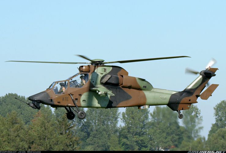 Helicopter Aircraft Vehicle Military Army Attack Eurocopter Tiger wallpaper